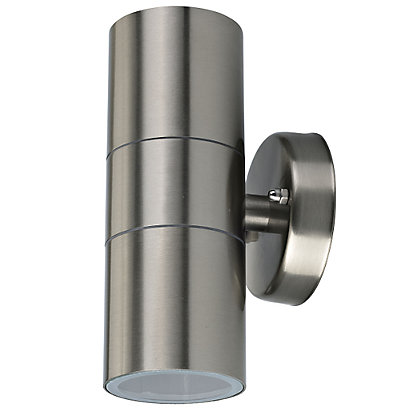 Image for Radius Stainless Steel Double Wall Light from StoreName