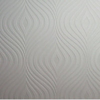 Superfresco Curvy Wallpaper - White