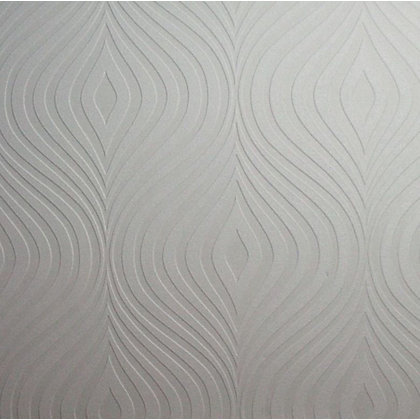 Image for Superfresco Curvy Wallpaper - White from StoreName