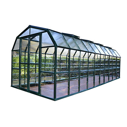 Image for Rion Grand Gardener Greenhouse - Green / 8x20ft from StoreName