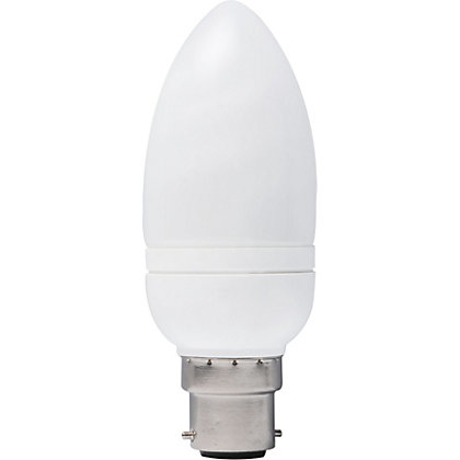 Image for Energy Saver (CFL) Candle BC 9W Bulb from StoreName