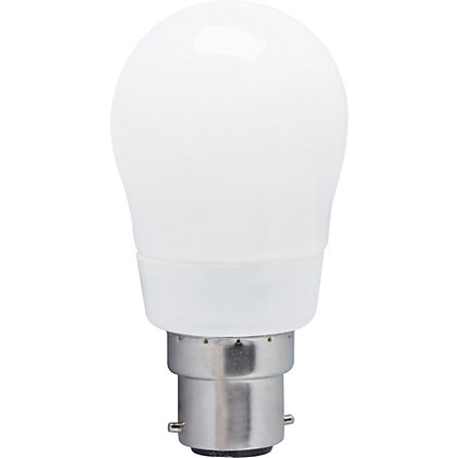 Image for Energy Saver (CFL) Mini Globe BC 6W Bulb from StoreName