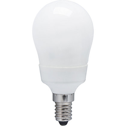 Image for Energy Saver (CFL) Mini Globe SES 6W Light Bulb from StoreName
