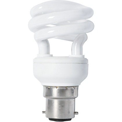 Image for Energy Saver (CFL) Spiral BC 8W Bulb from StoreName