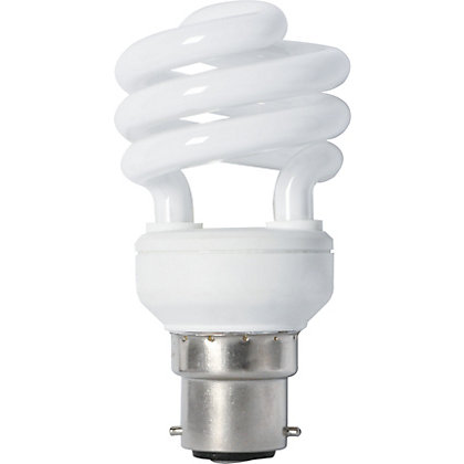 Image for Energy Saver (CFL) Spiral BC 11W Light Bulb from StoreName