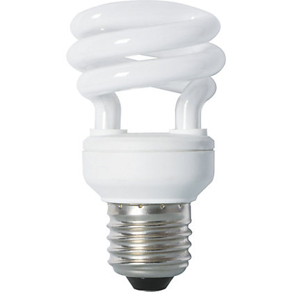 Image for Energy Saver (CFL) Spiral ES 8W Light Bulb from StoreName