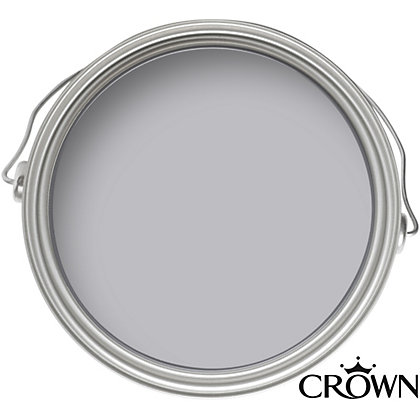 Image for Crown Fashion For Walls Aspen Silver - Indulgence Matt Emulsion Paint - 125ml Tester from StoreName