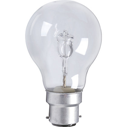 Image for Halogen Classic BC 70W Light Bulb - Pack of 2 from StoreName