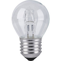 Halogen Mini Globe ES 18W Light Bulb - Pack of 2