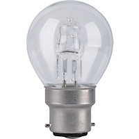 Halogen Mini Globe SBC 42W Bulb - Pack of 2