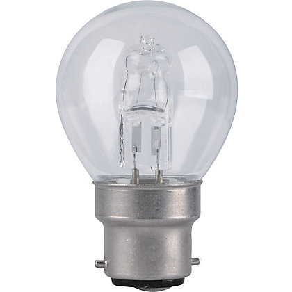 Image for Halogen Mini Globe SBC 42W Bulb - Pack of 2 from StoreName