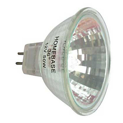 Image for Halogen MR16 50W Bulb - Pack of 6 from StoreName