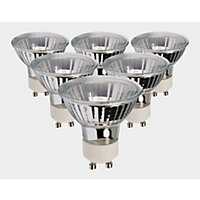 Halogen GU10 40W Bulb - Pack of 6