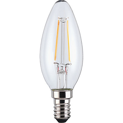 Image for LED Filament Candle SES 2.5W Bulb from StoreName