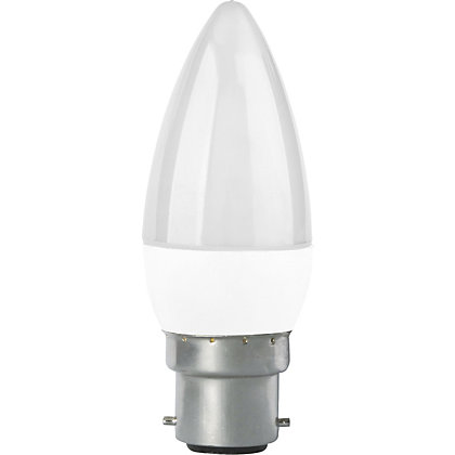 Image for LED Frosted Candle BC 4W Light Bulb from StoreName