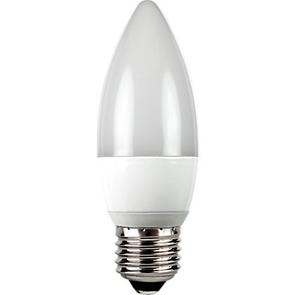 Image for LED  Frosted Candle ES 5W Light Bulb from StoreName