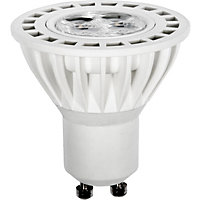 LED  White GU10 4W Light Bulb - Pack of 2