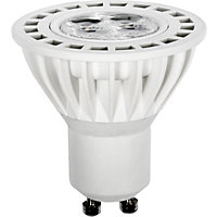 LED  White GU10 5W Light Bulb - Pack of 2