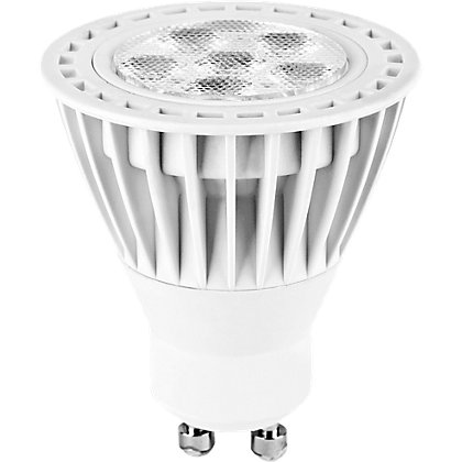 Image for LED White GU10 5W Bulb from StoreName
