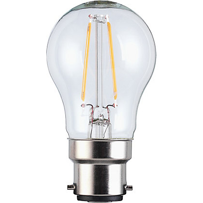 Image for LED Filament Mini Globe BC 2.5W Bulb from StoreName