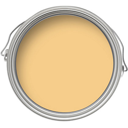 Image for Home of Colour Onecoat Warm Yellow - Matt Emulsion Paint - 2.5L from StoreName