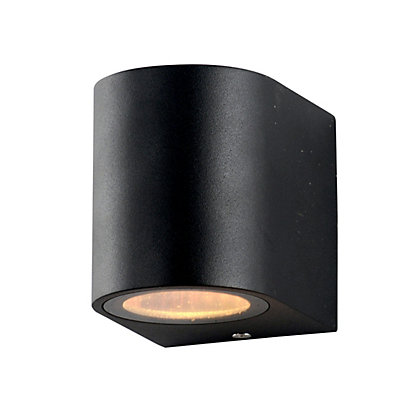 Image for Ena Single Black Wall Light from StoreName