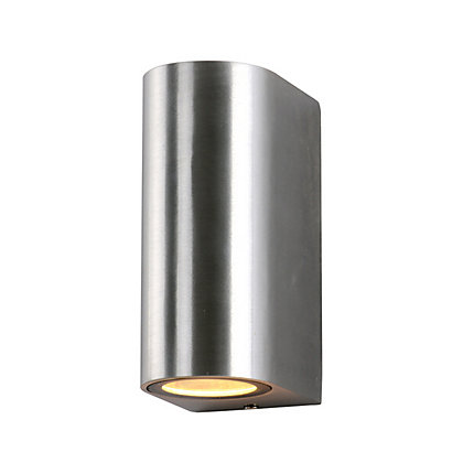 Image for Ena Double Wall Light - Silver from StoreName