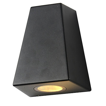 Image for E Double Black Angled Wall Light from StoreName