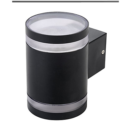 Image for Low Energy Double Wall Light Black from StoreName
