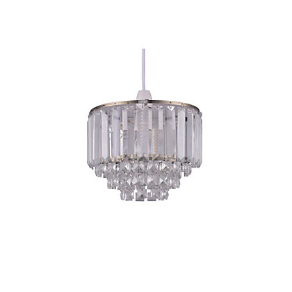Image for Belle Crystal Easy Fit Pendant Light from StoreName