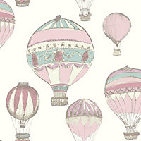 Gran Deco Hot Air Balloons Wallpaper