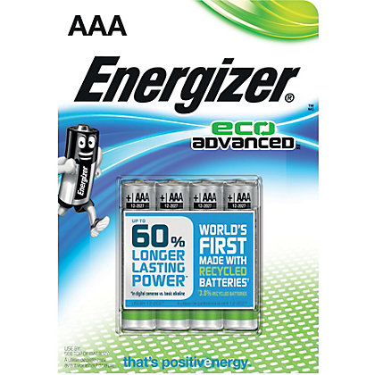 Image for Energizer Advanced AAA Battery - 4 Pack from StoreName