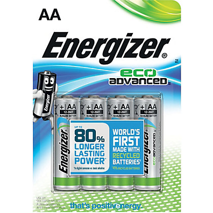 Image for Energizer Advanced AA Battery - 4 Pack from StoreName
