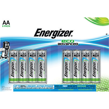 Image for Energizer Advanced AA Battery - 8 Pack from StoreName