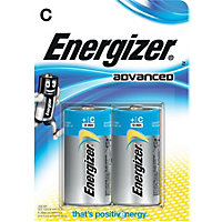 Energizer Advanced C Cell Battery - 2 Pack
