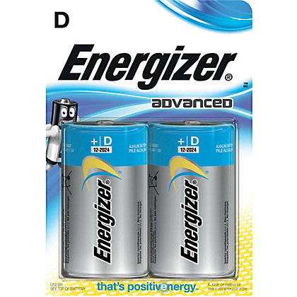 Image for Energizer Advanced D Cell Battery - 2 Pack from StoreName