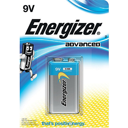 Image for Energizer Advanced 9V Battery - 1 Pack from StoreName