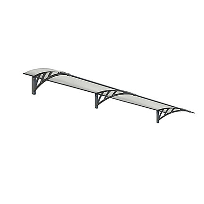 Image for Palram Neo 2700 Canopy - Grey Twinwall from StoreName