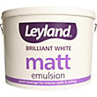 Leyland Matt Emulsion - Brilliant White - 10L
