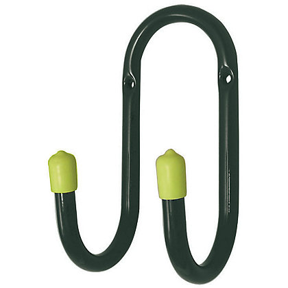 Image for Utility Double Hook - Blue and Green - 70mm - 3 Pack from StoreName