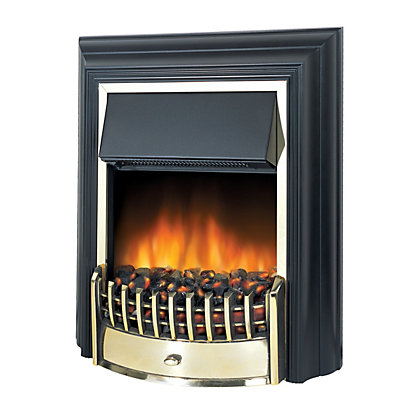 dimplex cheriton electric freestanding fire 2kw. Black Bedroom Furniture Sets. Home Design Ideas
