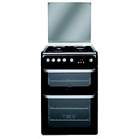 Hotpoint Ultima HUG61K Freestanding Cooker - Black