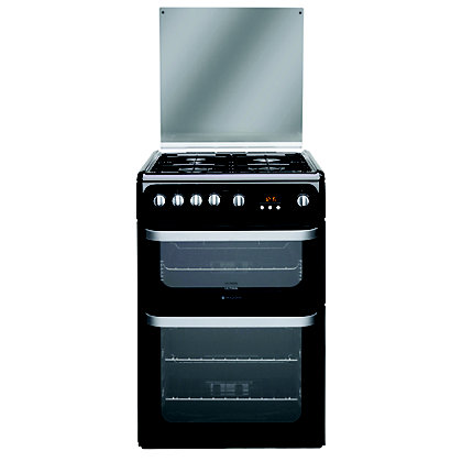 Image for Hotpoint Ultima HUG61K Freestanding Cooker - Black from StoreName