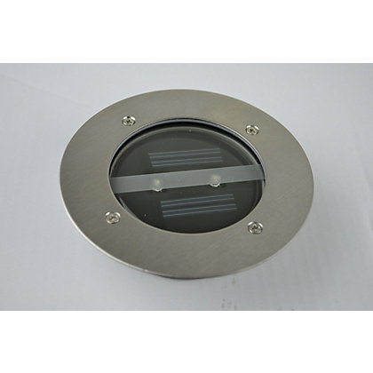 Image for Solar LED Round Ground Light from StoreName