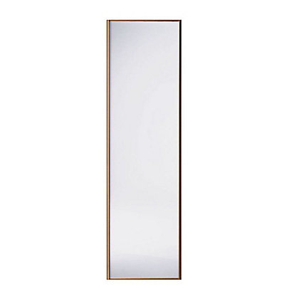 Image for Classic Wood Walnut Frame Mirror Sliding Door - 914mm from StoreName
