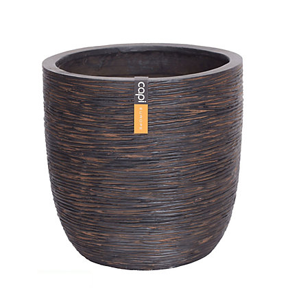 Image for Ribbed Egg Garden Planter - 43cm from StoreName