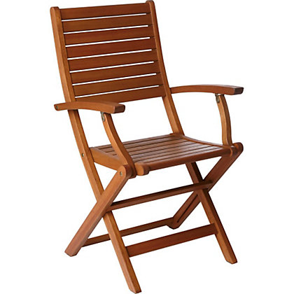 Image for Peru Folding Wooden Chair with Arms -  2 Pack from StoreName