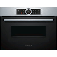 Bosch CMG633BS1B Combination Microwave Oven - Brushed Steel