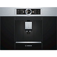 Bosch CTL636ES1 Compact Coffee Machine - Brushed Steel