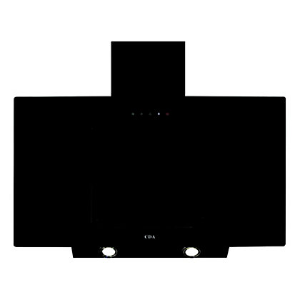 Image for CDA EVA90BL Angled Chimney Extractor - 90cm - Black from StoreName